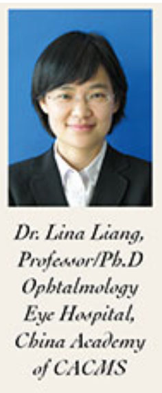 Prof Lina Liang Eye Hospital Beijing of China