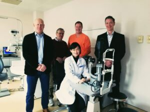 partnership John Boel con Eye Hospital Beijing of China